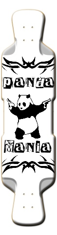 Panda Mania Perfecto 41 Skateboard Deck