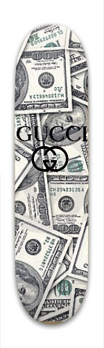 80764d7c0fd GUCCI x SECRETS Park Skateboard 8 x 31.775 - Designed By New ...