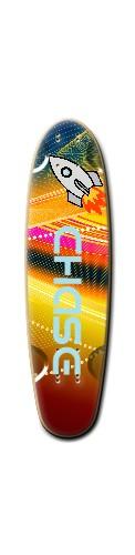 Custom Riviera Loose Grooves Skateboard 7 x 26 #144506