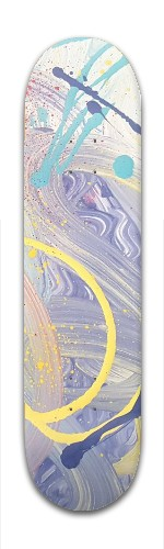 Ante Meridiem is Elated Banger Park Skateboard 7 7/8 x 31 5/8