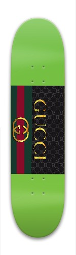 c12b6d0bcf0 Gucci gang Park Skateboard 7.88 x 31.495 - Designed By Zachary ...
