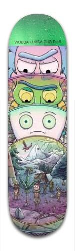rickidy recked Banger Park Skateboard 8.5 x 32 1/8