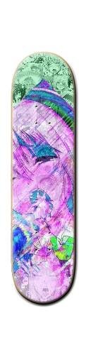 LewdWave Banger Park Skateboard 8 1/4  x 32