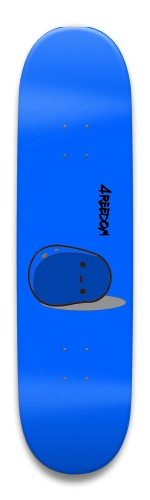 4REEDOM potato board Park Skateboard 8.5 x 32.463