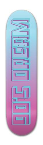 90's dream Banger Park Complete Skateboard 7 7/8 x 31 5/8