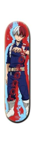 Shoto Todoroki Banger Park Skateboard 8 1/4  x 32