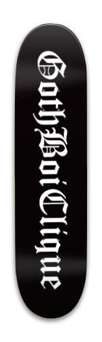 gothboiclique Park Skateboard 8 x 31.775