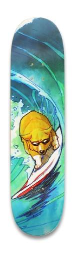 Surfing Shiba Park Skateboard 8.25 x 32.463