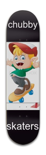 chubby skaters Banger Park Skateboard 8 x 31 3/4