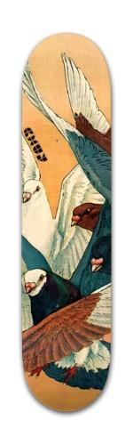 Banger Park Skateboard 7 3/8 x 31 1/8 #187404