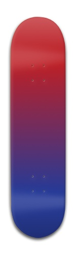 Red and blue Park Complete Skateboard 8 x 31 3/4