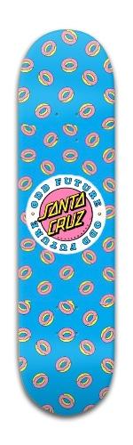 Santa Cruz x Odd Future Donut Board Banger Park Skateboard 8 x 31 3/4