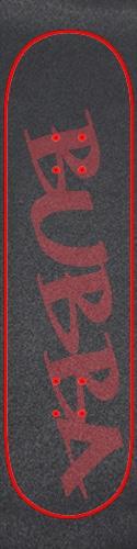 Custom skateboard griptape #189473