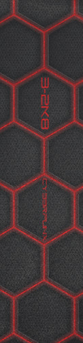 E-Skate Cyberpunk Custom longboard griptape