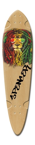 Dart Skateboard Deck v2 #190401