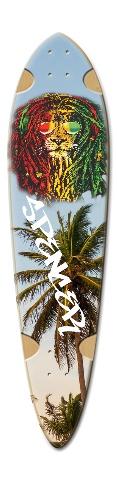 Dart Skateboard Deck v2 #190403