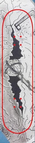 Custom skateboard griptape #190804