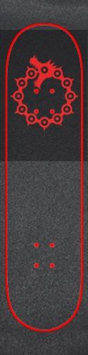 Custom skateboard griptape #191172