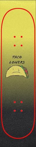 Taco Loners Custom skateboard griptape