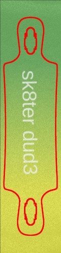 Custom skateboard griptape #191473