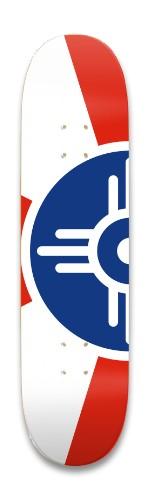 ICT Flag Park Skateboard 8.25 x 32.463