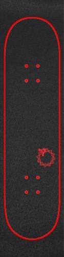 Meliodas Custom skateboard griptape
