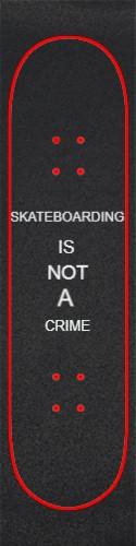 GRIPTAPE 1 Custom skateboard griptape