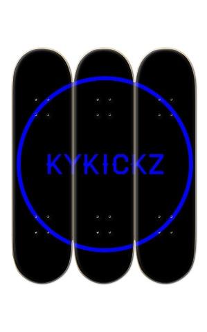 3 Deck Custom Skateboard Mural #193772