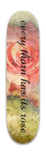 every rose Park Skateboard 7.88 x 31.495