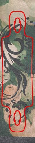 Custom skateboard griptape #195962