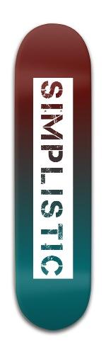 Simplistic Banger Park Skateboard 8 x 31 3/4