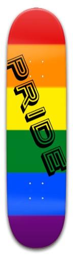 PRIDE Park Skateboard 8 x 31.775