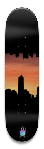 Sunset City Park Skateboard 8.5 x 32.463