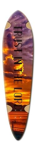 Trust Dart Complete Skateboard Deck v2