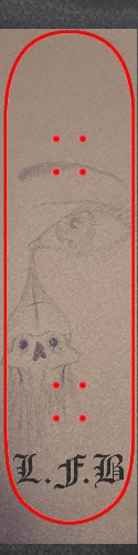 Custom skateboard griptape #197126