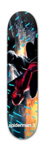 spiderman 3 Banger Park Complete Skateboard 7 3/8 x 31 1/8