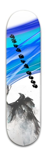 The Raven Park Complete Skateboard 8 x 31 3/4
