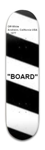 Banger Park Skateboard 8 x 31 3/4 #198611