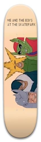 me and the boys Park Skateboard 8 x 31.775