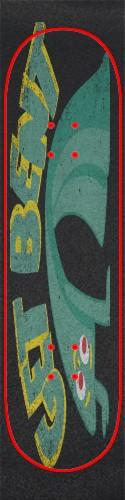 Custom skateboard griptape #199118