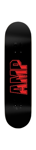 Heavy Metal Banger Park Skateboard 8 1/4  x 32