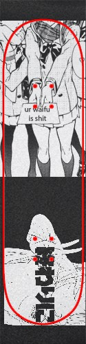 Custom skateboard griptape #200083