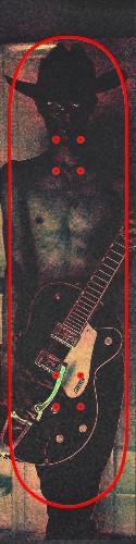 Custom skateboard griptape #200391