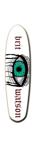jews Custom Riviera Anatomy of a Skateboard 8 x 30