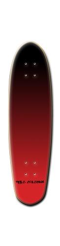 Custom Riviera Anatomy of a Skateboard 8 x 30 #206652