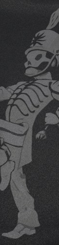 Black Parade Custom longboard griptape