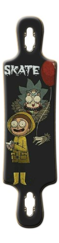 RICK AND MORTY B52 Complete Longboard