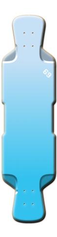 Fav Perfecto 39 Complete Longboard