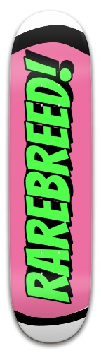 rarebreed 8.0 Park Skateboard 8 x 31.775