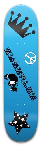 Emberlee's 10th Birthday Park Skateboard 8 x 31.775